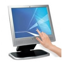 "15"" HP L1530 LCD Touchscreen HP  Monitor"